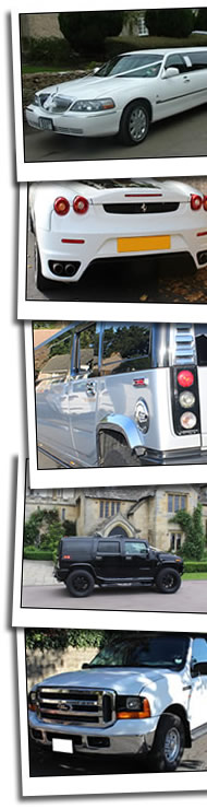 Limo Hire Reading homepage graphic