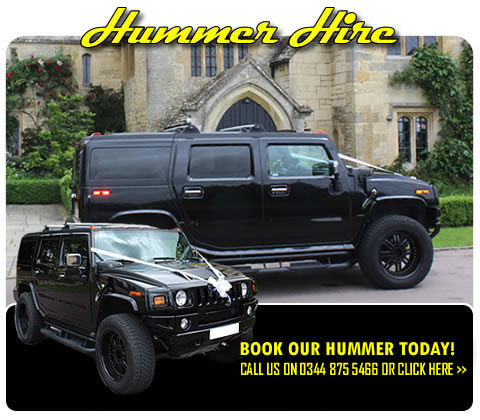 Hummer 4x4 chauffeur driven car